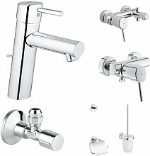 Grohe Concetto Waschtischarmatur M Size + Concetto