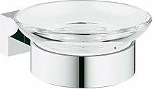 Grohe Essentials Cube Badaccessoires (Seifenschale mit Halter) 40754001