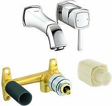 Grohe Grandera Wasserhahn für Badezimmer, mit 2