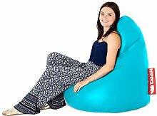 groß Kunstleder Sitzsack Gaming Pod Lounger Sessel, erhältlich in 8 Farben - Türkis