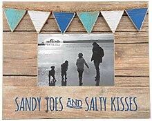 groß Sandig Zehen & Salzig Küsse Mini Fahnentuch