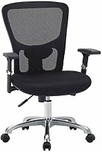 Groß und groß Bürostuhl Mesh Stuhl Computer
