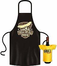 Großartiges Set zum Grillen : GRILL EM ALL, BBQ !