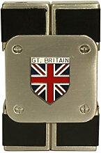 Großbritannien Union Flagge Elektronisches Gas