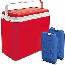 Große 24-Liter-Kühlbox, Camping, Strand, Lunch,