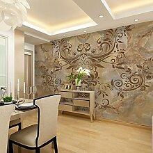 Große 3D Wallpaper Mural Nahtlose Einfache Wohnzimmer Schlafzimmer TV Hintergrund Wallpaper Brown Marmor Muster Hintergrund Wand XL XXL XXXL , xxl