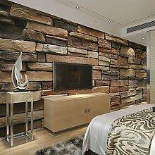 Große 3D Wallpaper Wandmalerei Nahtlose Einfache Wohnzimmer Schlafzimmer TV Hintergrund Wallpaper Unregelmäßige Erde Ziegel Hintergrund XL XXL XXXL , xxl