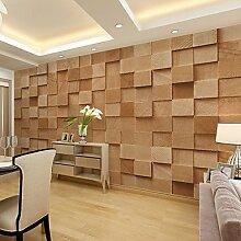 Große 3D Wallpaper Wandmalerei Tapete Nahtlose Einfache Wohnzimmer Schlafzimmer TV Hintergrund Tapete Baustein Modellierung Hintergrund XL XXL XXXL , xl