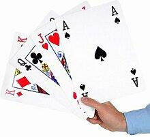 Große A4GIANT Spielkarten Party Spiele