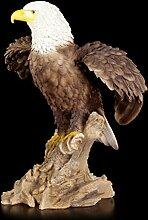 Große Adler Gartenfigur - Weißkopfseeadler -