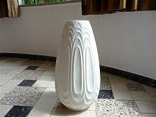 Große Deutsche Porzellan Bodenvase von H&C