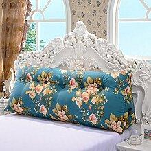 Große dreieckige Kissen Bett Doppelte Rückenlehne Kissen weichen Paket Sofa große Rückenlehne ( farbe : # 1 , größe : 120*20*50cm )