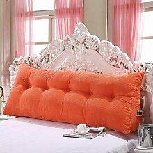 Große dreieckige Kissen Bett Doppelte Rückenlehne Kissen weichen Paket Sofa große Rückenlehne ( farbe : # 4 , größe : 120*20*50cm )
