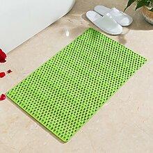 Große Dusche Matte,Dusche Fußmatten,WC Tür Matte,Pvc-antirutsch-matten-B 40x70cm(16x28inch)