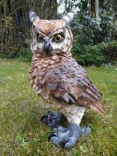 Große Eule Figur Vogel 44 cm Garten Tierfigur TOP