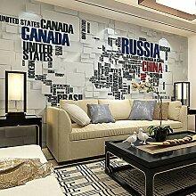 Große Fototapete 3D Wallpaper für Wohnzimmer TV