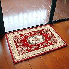 Große Fußmatte, 90x 60cm Badezimmer Traditionelle Handgemachte Bereich Perser Design Teppich Oriental Matte Eingang Wohnzimmer Teppich Home Decor