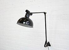 Große industrielle Wandlampe von Ernst