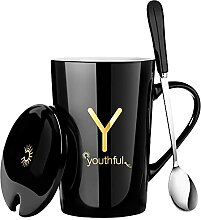 Große Kaffee-Tee-Tassen Frühstücksmilch