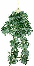 Große künstliche Weide Eukalyptusblätter Rebe