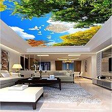 Große kundenspezifische Tapete Blue Sky White