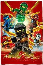 Große Lego Ninjago Decke Fire 120 cm x 150 cm