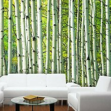 Große moderne Wandtapete 3D Wohnzimmer TV