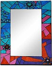 Große Mosaik Geometrische Wandspiegel 40x