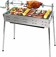 Große Outdoor Grill Tragbare Holzkohlegrill 5-10