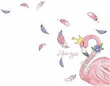 Große rosa Königin Flamingo Prinzessin