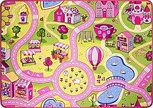Große Spielmatte Kinder Teppich und Krabbelmatten