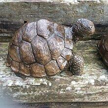 Große Stein Schildkröte Garten Ornament