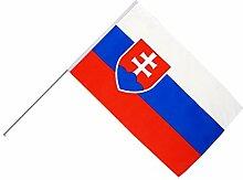 Große Stockflagge / Stockfahne Slowakei + gratis