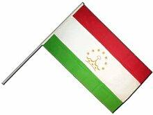Große Stockflagge / Stockfahne Tadschikistan +
