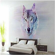 Große Wandbilder Wolf Cool Hintergrund