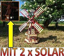 Große windmühle, Gartenwindmühle 130 cm,