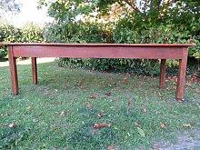 Großer antiker Bauerntisch aus Eiche & Kirschholz