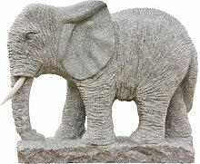 Großer Elefant, Skulptur aus Granit, Figur