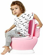 Großer Kinder-Toilettensimulator (blau/Pink)