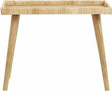 Großer Rattan-Tisch Turn