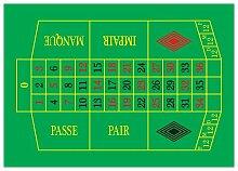 großer Roulettespielplan Spielplan Roulette Plan DIN A1