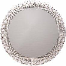 Großer Runder Beleuchteter Spiegel von Emil