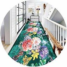 Großer Teppichläufer Teppich für Flur Treppen,