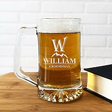 Großes Bierglas, Bierkrüge, Gläser,