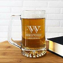 Großes Bierglas, großes Bierkrug Gläser,