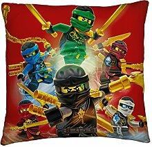 Großes Lego Ninjago Kissen Fire 40 cm 40 cm