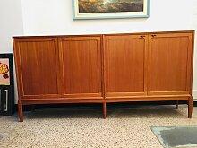 Großes Sideboard aus Teak von Henry W.Klein für