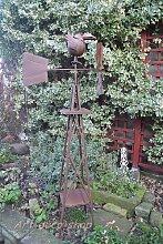 Großes Windrad, Windmühle,Wetterfahne, Windspiel