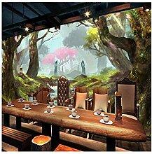 Großformatige Wandbilder Schöne Wald Fließendes