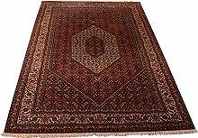 Großteppich Bidjar Indien ca. 290 x 195 cm · Rot · handgeknüpft · Schurwolle · Klassisch · hochwertiger Teppich · S099356